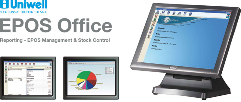 Uniwell EPOS Office - Back Office for Reporting, EPOS Management & Stock Control